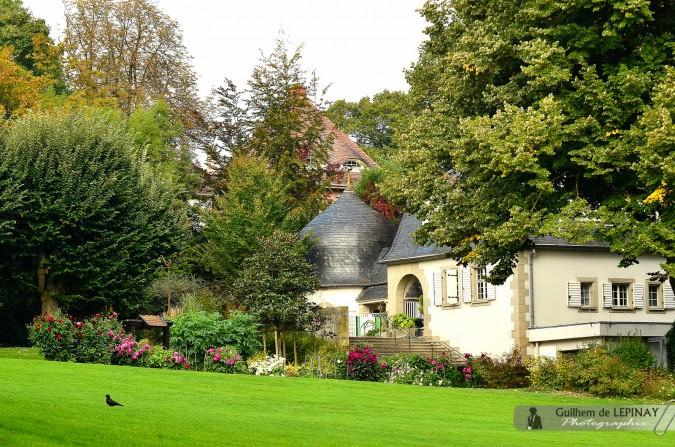 Parc botanique du zoo de Mulhouse