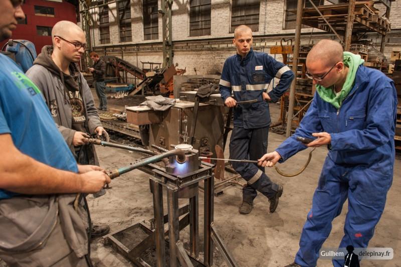fonderie arts et métiers - La température va beaucoup influer sur la qualité des pièces moulées.