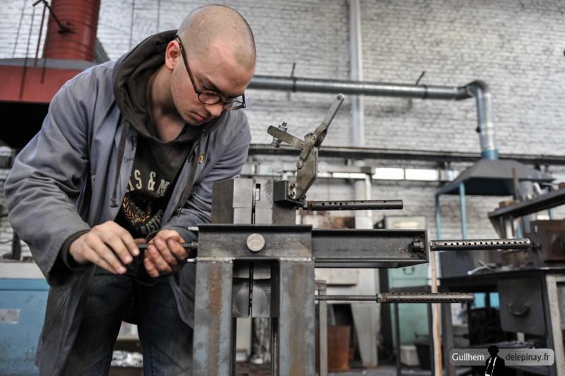 fonderie arts et métiers - Le montage est démonté et vérifié avant le premier essai.
