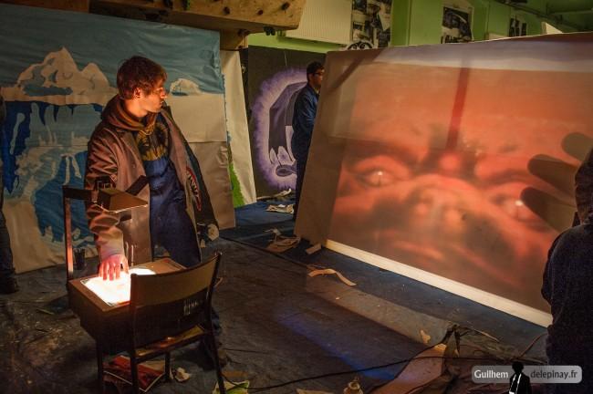 Préparation gala arts et métiers - photo Guilhem de Lépinay
